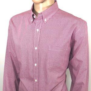 J. CREW Men's Shirt Sz XL Regular Fit Long Sleeve
